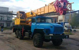 Аренда автокран-вездехода Углич - 35 тонн