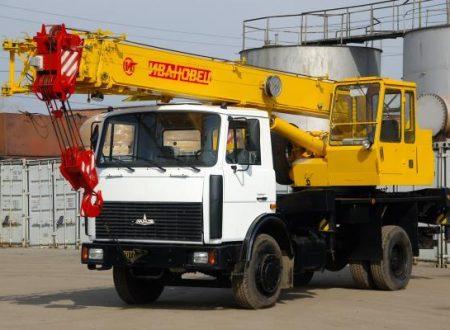 Аренда автокрана Ивановец - 16 тонн