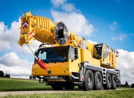 Аренда автокрана Liebherr LTM 1100 - 100 тонн