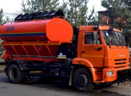 Аренда поливомоечной машины на базе КАМАЗ 4325-(8 м3)