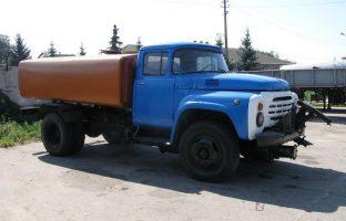 Аренда поливомоечной машины на базе ЗИЛ-(6 м3)