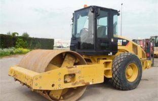 Аренда катка CAT CS56 -12,5 тонн