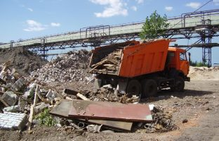 Размещение строительных отходов