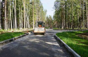 Строительство дорог в коттеджном поселке и в сельской местности