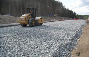 Строительство гравийных дорог