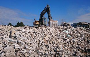 Вывоз и утилизация боя бетона