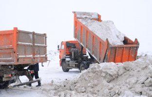 Вывоз и утилизация снега в Москве