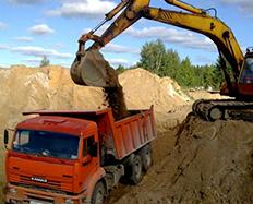 Пескогрунт по цене от 264 руб/м3