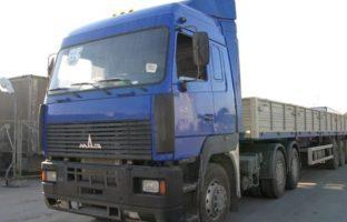 Аренда длинномера МАЗ-533603-220 грузоподъемностью 10 тонн