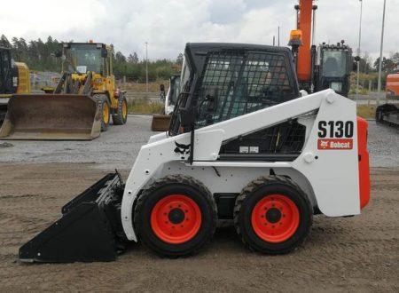 Аренда мини-погрузчика Bobcat S130 по цене от 957 руб./час