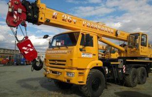 Аренда автокрана Галичанин — 25 тонн по цене от 765 руб./час