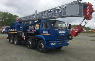 Аренда автокрана Галичанин — 32 тонны по цене от 765 руб./час