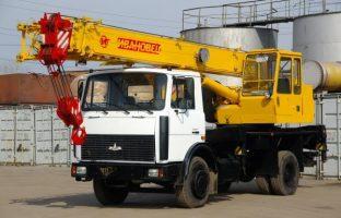 Аренда автокрана Ивановец — 16 тонн по цене 765 руб./час