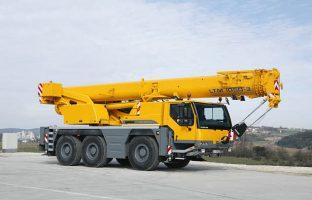 Аренда автокрана Liebherr LTM 1050 — 50 тонн по цене от 765 руб./час