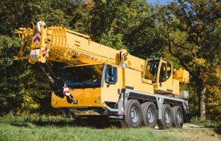 Аренда автокрана Liebherr LTM 1070 — 70 тонн по цене от 765 руб./час