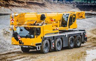 Аренда автокрана Liebherr LTM 1090 — 90 тонн по цене от 765 руб./час