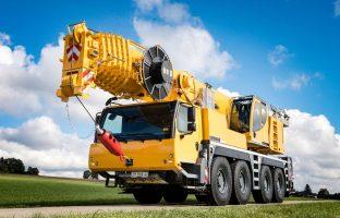 Аренда автокрана Liebherr LTM 1100 — 100 тонн по цене от 765 руб./час