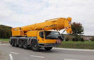Аренда автокрана Liebherr LTM 1130 — 130 тонн по цене от 765 руб./час