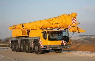 Аренда автокрана Liebherr LTM 1160 — 160 тонн по цене от 765 руб./час