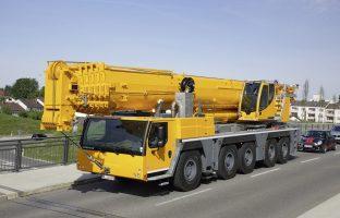 Аренда автокрана Liebherr LTM 1250 — 250 тонн по цене от 765 руб./час