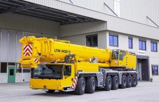 Аренда автокрана Liebherr LTM 1400 — 400 тонн по цене от 765 руб./час