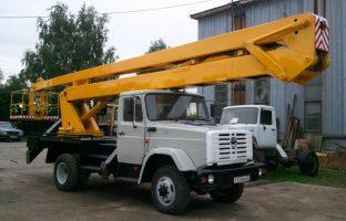 Аренда автовышки АГП-22 по цене от 850 руб./час
