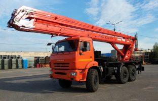 Аренда автовышки АГП-28 по цене от 850 руб./час