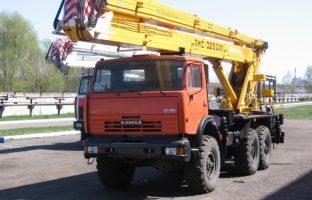 Аренда автовышки АГП-32 по цене от 850 руб./час