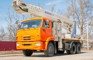Аренда автовышки АГП-36 по цене от 850 руб./час