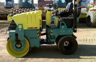 Аренда комбинированного катка AMMANN AV 26 К (3 т.,4 т.) по цене от 1190 руб./час