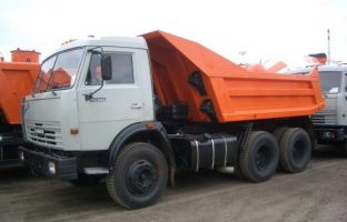 Аренда самосвала КАМАЗ 55111 по цене от 850 руб./час