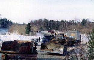 Отсыпка кустовых площадок по цене от 200 руб./м3