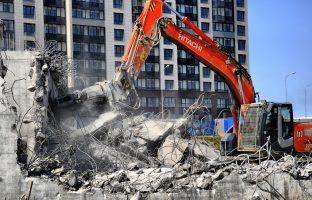 Снос и демонтаж зданий по цене от 128 руб./м²