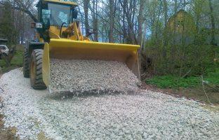 Строительство грунтовых дорог по цене от 264 руб./м²