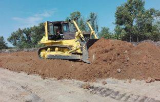 Строительство песчаных дорог по цене от 264 руб./м²