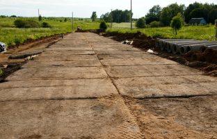 Строительство временных дорог по цене от 138 руб./м²