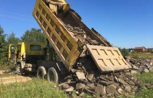 Вывоз и утилизация асфальтного скола по цене от 187 руб/м3