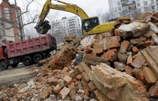 Вывоз и утилизация боя кирпича по цене 187 руб/м3