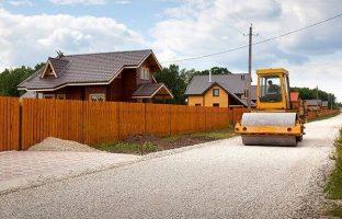 Строительство дачных дорог по цене от 179 руб./м²